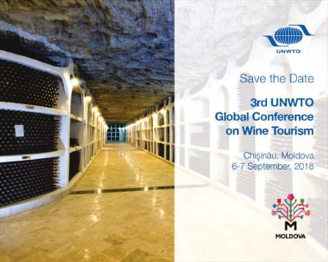 Всемирная конференции по винному туризму ЮНВТО пройдет в Молдове