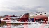 Экипаж горевшего Суперджета эвакуировал пассажиров за 55 секунд