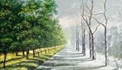 Когда лето (еще не начавшись) сразу переходит в зиму