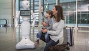 Lufthansa и аэропорт Мюнхена выпустили к пассажирам робота.