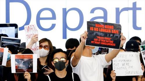 Гонконг продолжает протест
