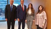 Дипломаты Израиля проинформировали Зарину Догузову о новых правилах предоставления политического убежища в стране якобы туристам