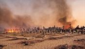 Пожарная служба Италии борется с более, чем 800 лесными пожарами