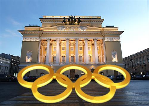 Театральную Олимпиаду в С-Петербурге запустят с балкона