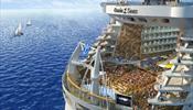 Самый большой круизный лайнер в мире - покоряет Европу