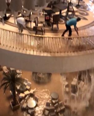Vogue Hotel Bodrum затопило
