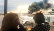 «Я выталкивала дверь ногой …» - бортпроводница рассказала о спасении из горящего самолета