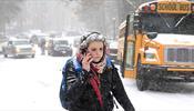 Ледяной шторм парализует аэропорты США