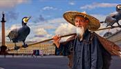 Толпы китайских туристов водит по Петербургу … баклан