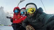 Катание на горных лыжах не способствует распространению ковида