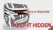 Активисты призывают не рассказывать никому про Барселону