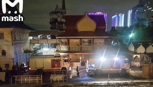 В Измайловском кремле сильно обгорели 8 человек