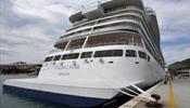 Круизный лайнер Viking застрял в Эстонии