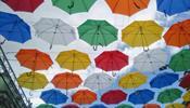 Аллея парящих зонтиков вновь появилась