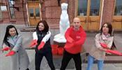 Красные перчатки в Казани