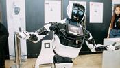 В С-Петербурге работает рекордно большая выставка роботов