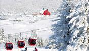 На горнолыжных курортах Турции закроют трассы на выходyые дни