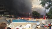 Как горят отели Болгарии
