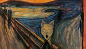 Коты Мунка, Малевича, Пикассо и другие - встретятся