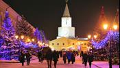 В Казани упал Новогодний туризм
