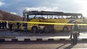В Египте взорвали автобус с туристами