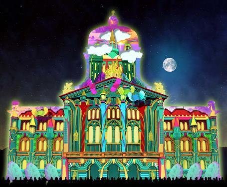 Парламент в Берне предстанет в фантастическом свете