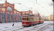 В С-Петербурге поехал новый туристический ретротрамвай