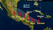 Ураган «Эрнесто» погнал туристов в убежища