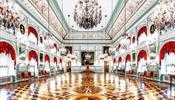 В Петергофе открыли парадные залы Большого дворца