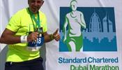 Дмитрий Арутюнов пробежал 8-й марафон
