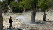 На курортах Краснодарского края аномальная жара и перебои с водой