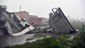 В Генуе обрушился мост