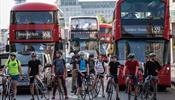 У Лондона в приоритете пешеходы и велосипедисты