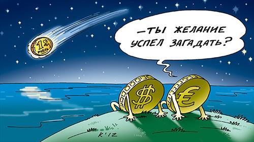 Рынок не верит в твердый рубль