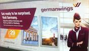 В метро Лондона срочно удаляют рекламу немецкой авиакомпании