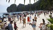 Райский пляж в Таиланде закрывается