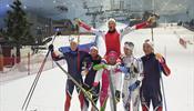 В Дубае планируют лыжный спринт … на снегу
