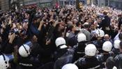 В Белграде столкновения