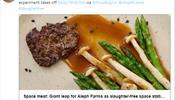 Рано или поздно мясо для туристов начнут печатать