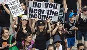 Гонконг в нокдауне от забастовок и протестов