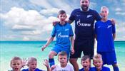 «Черноморье» и «Зенит» - радость детей в спортивном лагере в Болгарии
