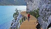 Вокруг озера Гарда строят невероятную «парящую» велодорожку