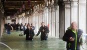 Венецию накрыл разгул стихии