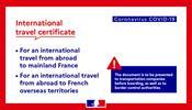Франция вводит «международный сертификат на поездку»