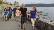 Costa Cruises предложила круизникам скандинавскую ходьбу