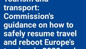 Еврокомиссия опубликовала 13 мая планы поэтапного смягчения ограничений на передвижение внутри Евросоюза