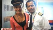 Малазийские пилоты проводили в кабине время с девушками?