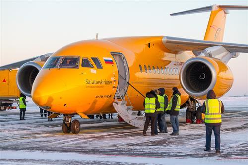 «Саратовские авиалинии» приостанавливают эксплуатацию Ан-148